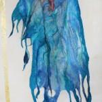 Batik, pintura sobre seda, nunofelting