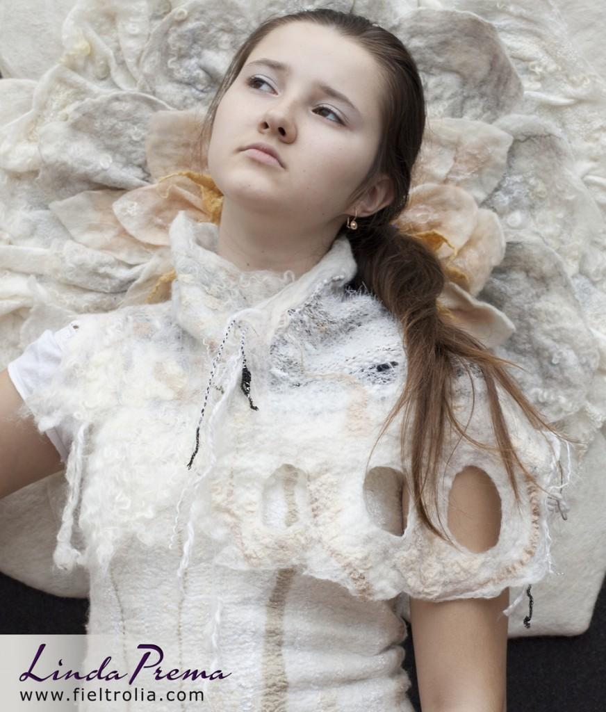 comprar bufanda de lana con tejido